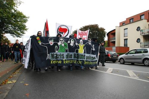 Antifa Demo Emsdetten 2012