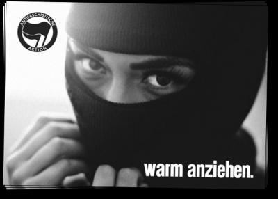Antifa - warm anziehen